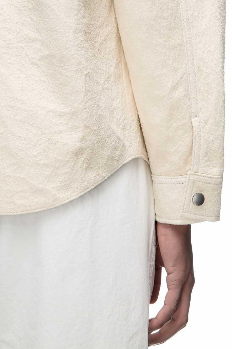 Leather Zip Shirt